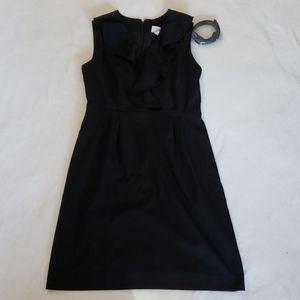 Merona NWT Ruffle top dress w/belt size 8